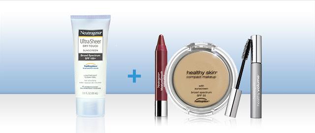 Any Neutrogena® Suncare + any Neutrogena® Cosmetics coupon