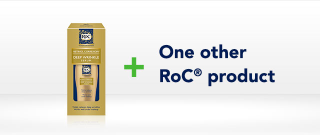 RoC® Retinol Correxion Deep Wrinkle Serum Combo Offer coupon