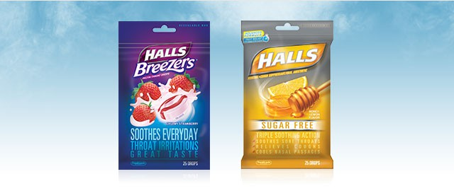 Buy 2: HALLS® Drops Bags coupon