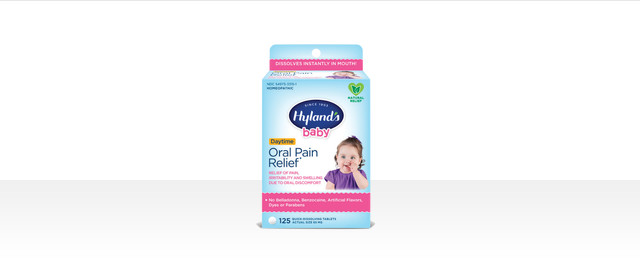 Hyland's Baby Oral Pain Relief Tablets coupon