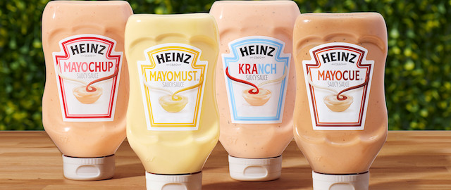 Heinz Saucy Mashups coupon