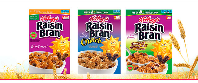 Buy 2: Kellogg's Raisin Bran coupon