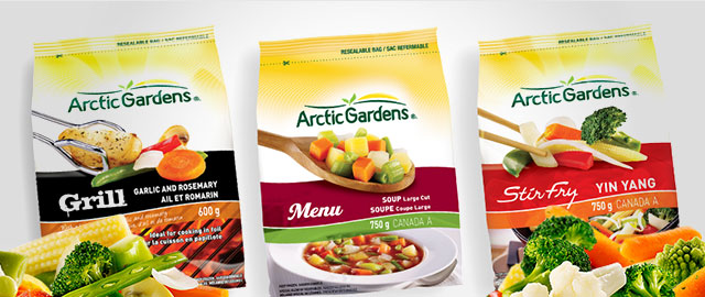 Arctic Gardens Frozen Vegetables coupon