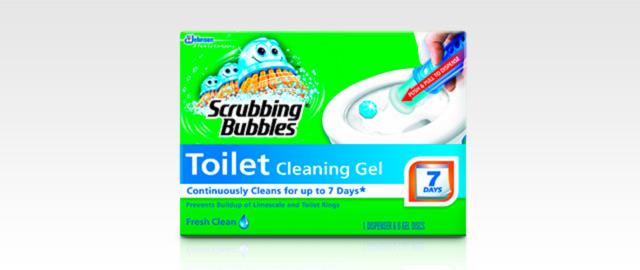 Scrubbing Bubbles® Toilet Gel coupon