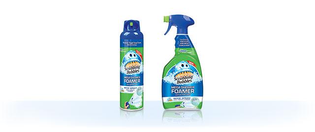 Scrubbing Bubbles® Mega Shower Foamer coupon