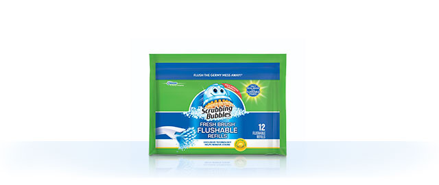 Buy 2: Scrubbing Bubbles® Fresh Brush® Refills coupon