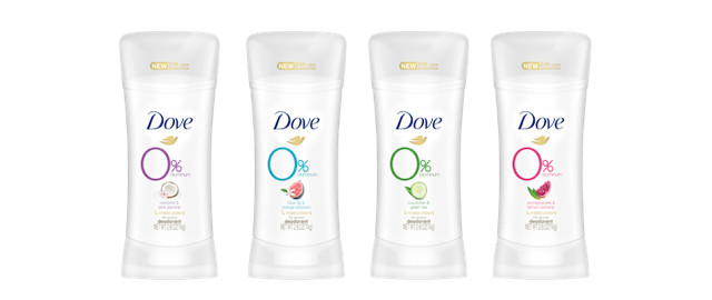 Dove 0% Aluminium Deodorant coupon