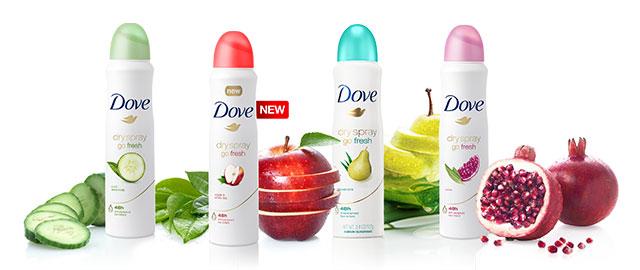 Dove Dry Spray Deodorant coupon