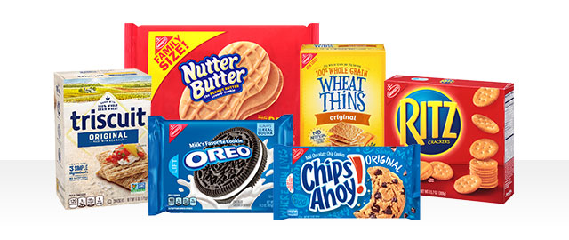 Buy 2: Select NABISCO Cookies and Crackers coupon