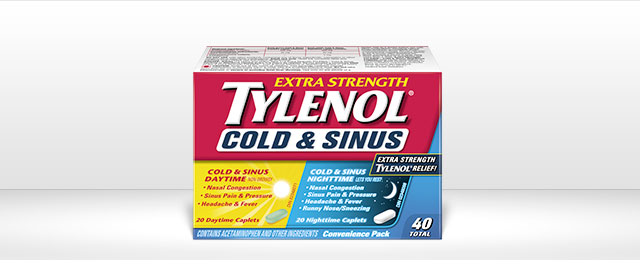 TYLENOL® Cold & Sinus coupon
