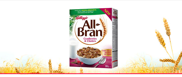 All-Bran* Cranberries & Clusters cereal coupon