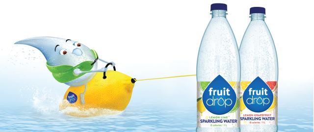 Buy 2: FRUIT DROP Sparkling Water coupon