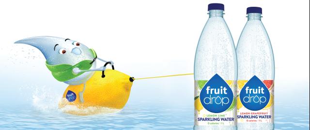 FRUIT DROP Sparkling Water coupon