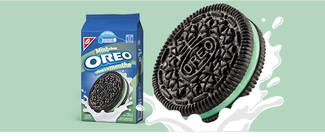 Mint Crème OREO cookies coupon