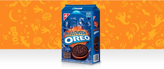 Halloween OREO cookies coupon
