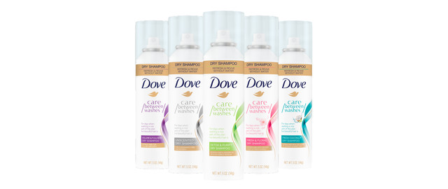 Dove Dry Shampoo coupon