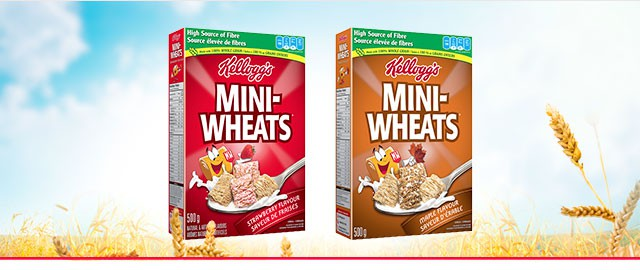 Mini-Wheats* Strawberry or Maple flavour cereal coupon
