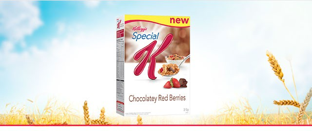 Special K* Chocolatey Red Berries cereal coupon