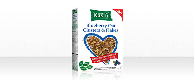 Kashi* Blueberry Oat Clusters & Flakes cereal coupon