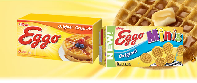 Buy 2: Eggo* Waffles or Eggo Minis* Waffles coupon