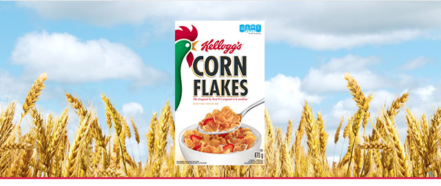 Kellogg's* Corn Flakes* cereal coupon