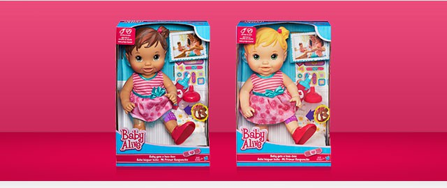 BABY ALIVE Baby gets a boo-boo doll coupon