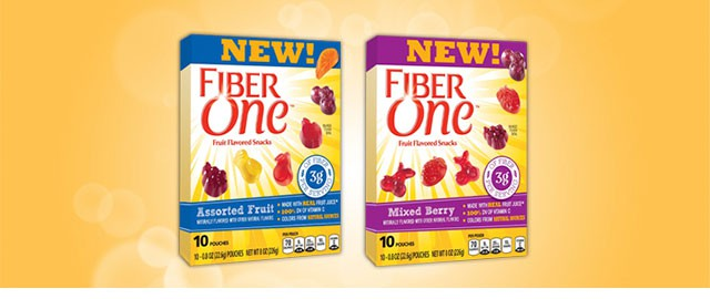 Fiber One™ Fruit Flavored Snacks at Walmart coupon