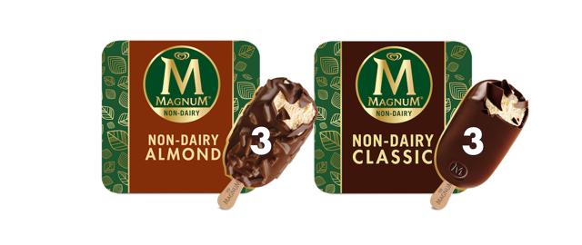 Magnum Non-Dairy Frozen Dessert Bars coupon