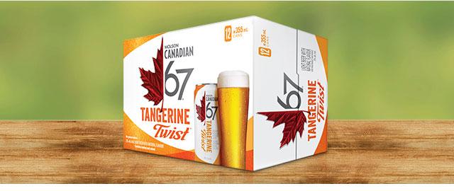 Molson Canadian 67 Tangerine Twist* coupon