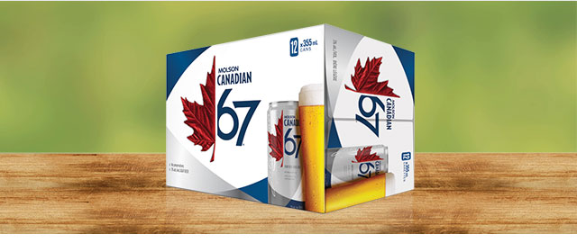 Molson Canadian 67* coupon