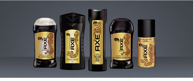 AXE products coupon