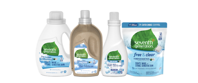 Select Seventh Generation Laundry Products coupon: Mobile and online