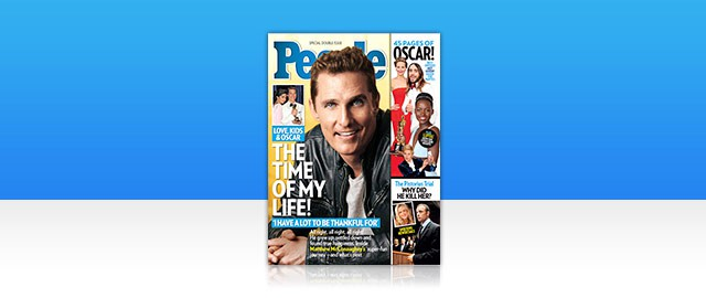 PEOPLE Magazine coupon