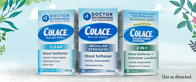 Colace® Stool Softener coupon