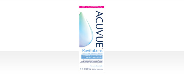 ACUVUE™ RevitaLens Multi-Purpose Disinfecting Solution coupon