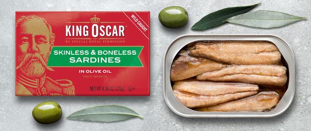 King Oscar Skinless Boneless Olive Oil Sardines coupon