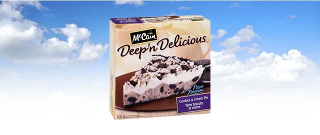 McCain® Deep 'n Delicious® Cream Pies coupon
