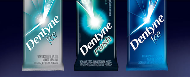 DENTYNE gum multipack coupon