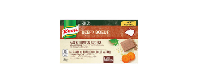 Knorr Selects™ Beef Bouillon Cubes coupon