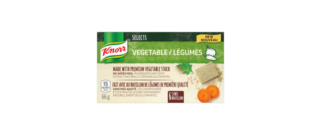 Knorr Selects™ Vegetable Bouillon Cubes  coupon