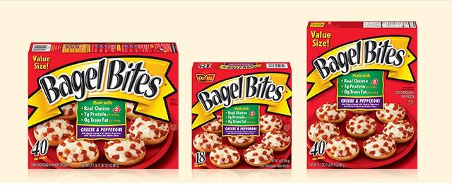Buy 2: Select Ore-Ida Bagel Bites® coupon