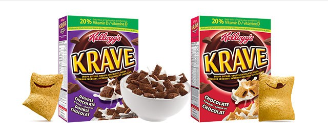 Buy 2: Kellogg's Krave™ cereal coupon