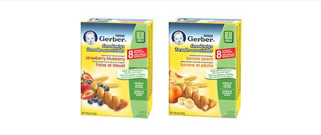 Buy 2: Gerber® Cereal Twists® coupon