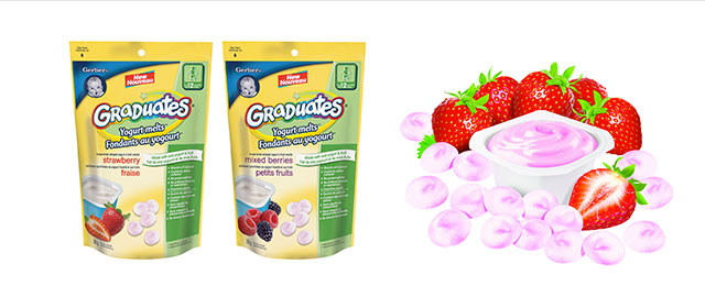 Gerber® Yogurt Melts® coupon