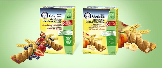 Nestlé® Gerber® Cereal Twists® coupon