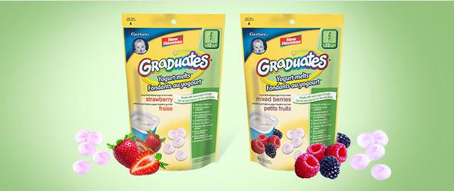 Nestlé® Gerber® Yogurt Melts® coupon