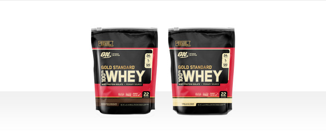 OPTIMUM NUTRITION GOLD STANDARD 100% WHEY coupon