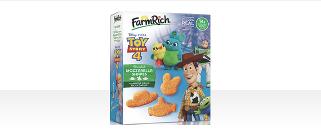 Farm Rich Toy Story 4 Mozzarella Shapes coupon