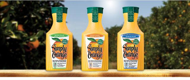 Simply Orange® Juice 1.75 L coupon