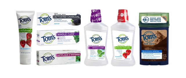 Tom's of Maine Products coupon